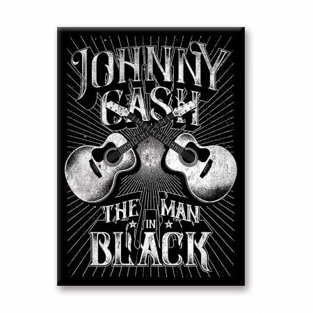 Johnny Cash The Man in Black Magnet