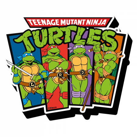Teenage Mutant Ninja Turtles TMNT Characters Magnet