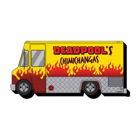 Deadpool's Chimichanga Truck Magnet