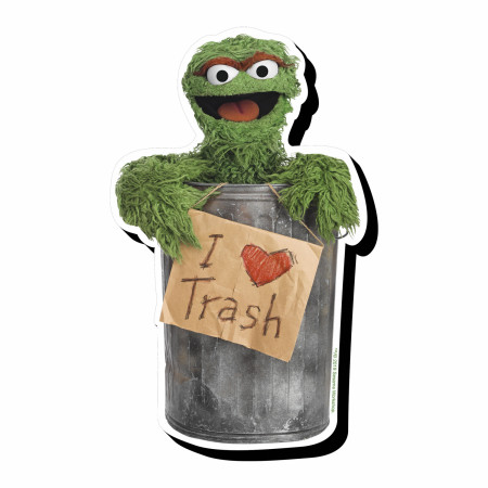 Sesame Street Oscar The Grouch Magnet