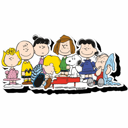 Peanuts Cast Magnet