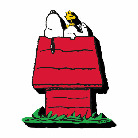 Snoopy Dog House Magnet