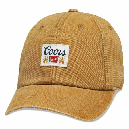 Coors Banquet Beer Golden Dad Hat