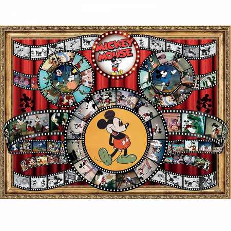 Disney Mickey Mouse Classic Movie Reel 1500-Piece Puzzle