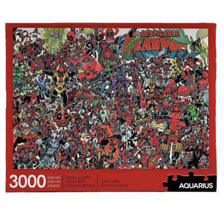 "Marvel Deadpool Verse 3000pc 32"" x 45""Jigsaw Puzzle"