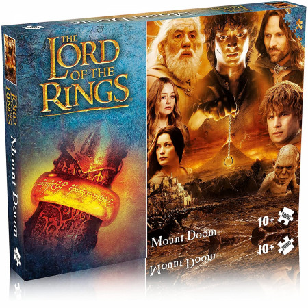 Lord of the Rings Mount Doom 1000 Piece Jigsaw Puzzle