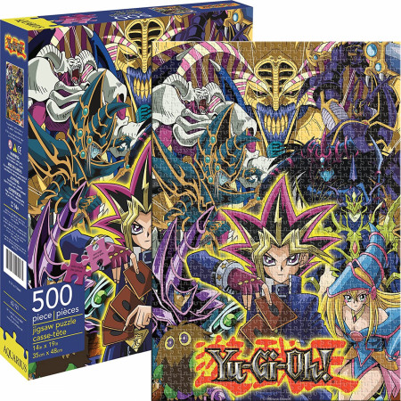 Yu-Gi-Oh 500 Piece Aquarius Puzzle