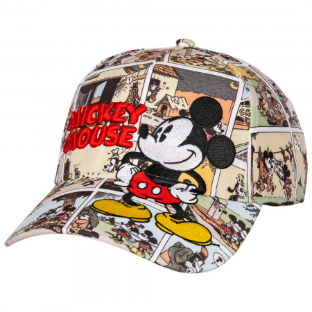 Mickey Mouse Disney Comic Baseball Hat