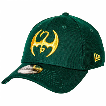Iron Fist Dragon Symbol New Era 39Thirty Fitted Hat