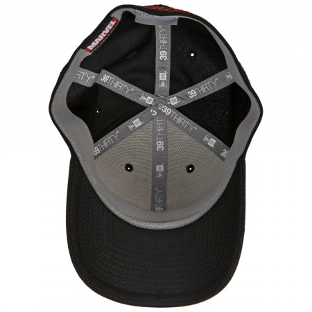Scarlet Witch Headdress Symbol New Era 39Thirty Fitted Hat