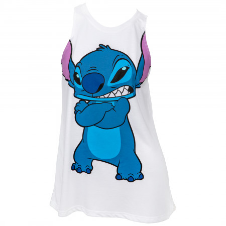 Stitch Disney Character Juniors Tank Top