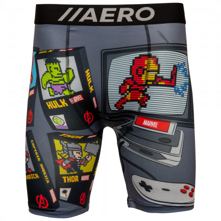 Marvel Avenger's Retro Video Game Console Men's Boxer Briefs
