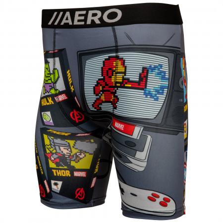 Marvel Avenger's Retro Video Game Console Men's Boxer Briefs