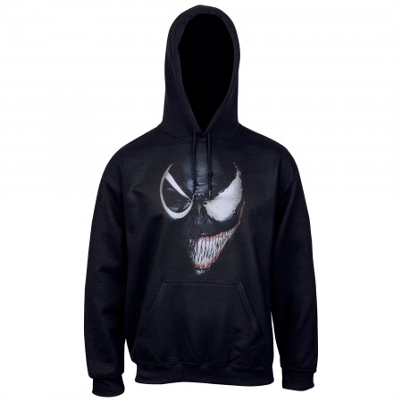 Venom Evil Smile Split Face Pull Over Hoodie