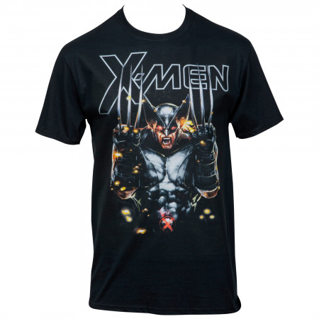 X-Men Wolverine X-Force Messiah War T-Shirt