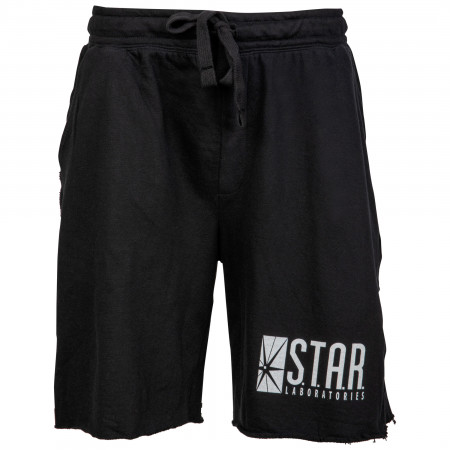 The Flash S.T.A.R Laboratories Sleep Shorts