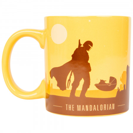 The Mandalorian Desert Scene 20 Ounce Mug