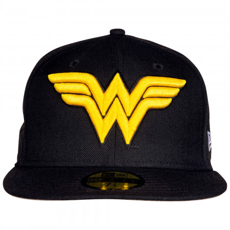 Wonder Woman Classic Symbol New Era 59Fifty Fitted Hat