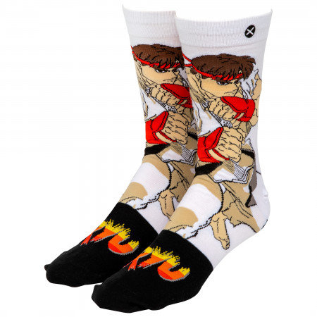Street Fighter Ryu Crew Socks