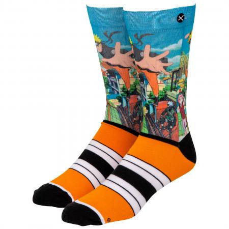 Naruto Strike Crew Socks