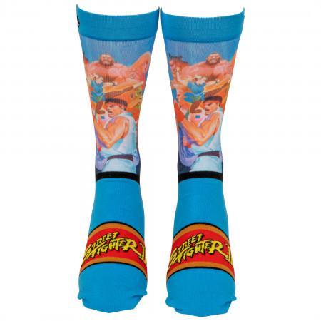 Street Fighter World Warriors Crew Socks