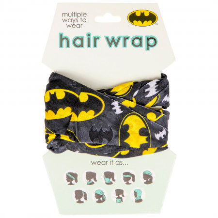 Batman Classic Symbol Face Mask and Hair Wrap