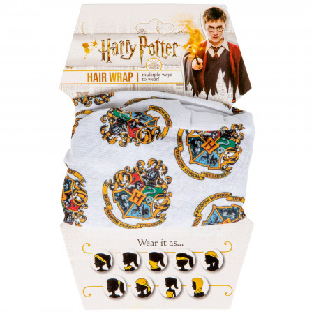 Harry Potter Hogwarts Face Mask and Hair Wrap