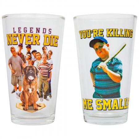 Sandlot Legends & Smalls 2-Pack Pint Glass Pub Set
