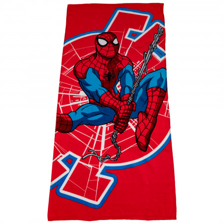 Spider-Man Spidey Jump Beach Towel