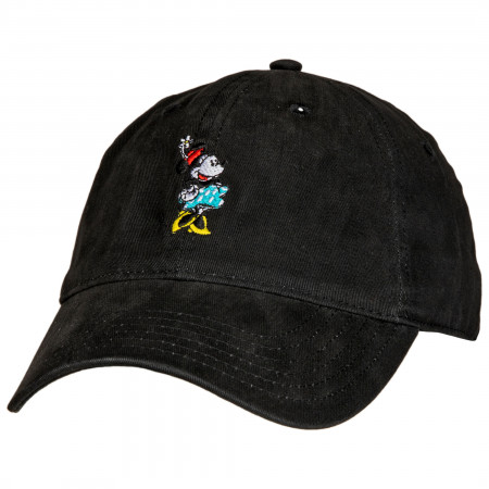 Disney Minnie Mouse Black Relaxed Hat