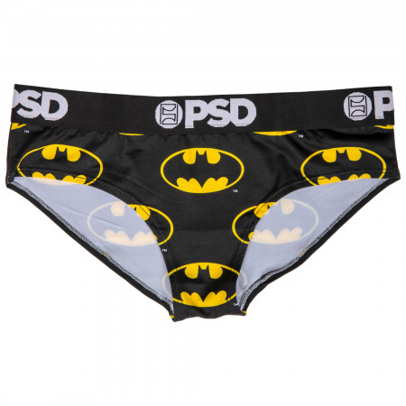 DC Batman Symbol Microfiber Blend Classic Cheeky Women's Underwear