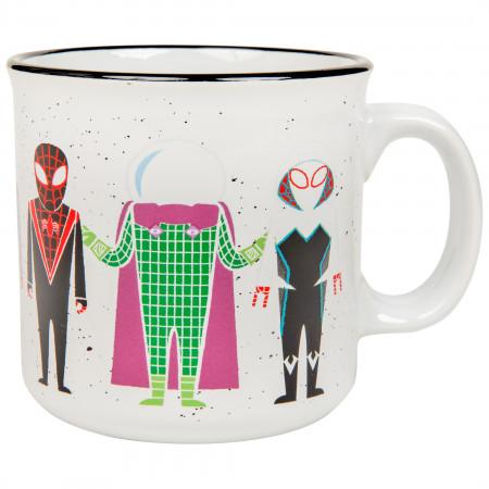 Marvel Comics Spider-Man Character Line Up 20 Ounce Mug