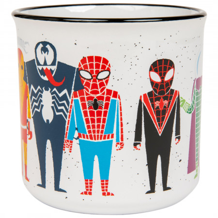 Marvel Comics Spider-Man Character Line Up 20 Ounce Mug