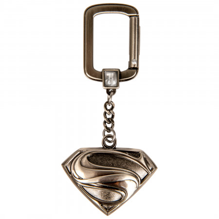 Superman Justice League Logo Keychain