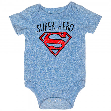 Superman Super Hero Infant Snapsuit