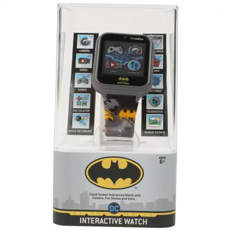 Batman Symbols All Over Accutime Kids Interactive Watch