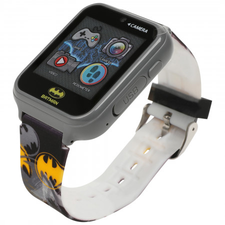 Batman Symbols All Over Accutime Kids Interactive Watch