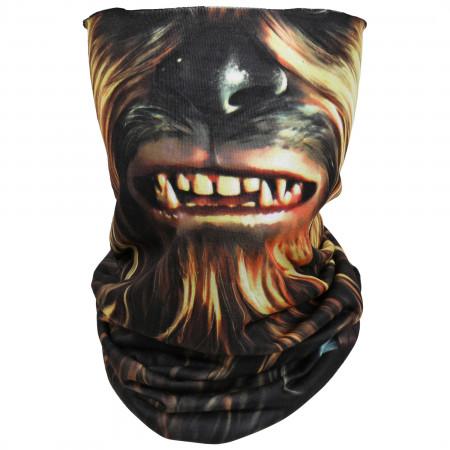 Star Wars Chewbacca Character Costume Full Face Tubular Bandana Gaiter