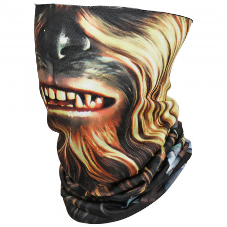 Star Wars Chewbacca Character Costume Full Face Tubular Bandana Gaiter