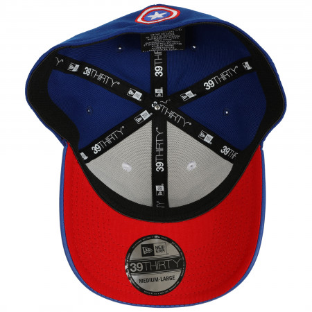 All New Captain America Armor 39Thirty Flex Fitted New Era Hat