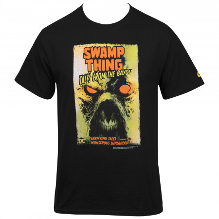 DC Comics Swamp Thing Tales from the Bayou Comic Cover T-Shirt