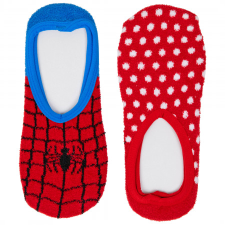 Spider-Man Classic Costume Women's 2-Pair Pack of Ankle Socks