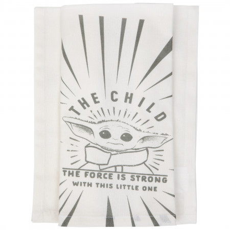Star Wars The Mandalorian The Child The Force Kitchen Towel