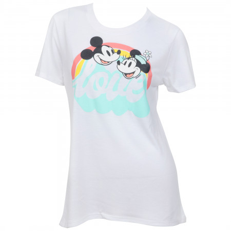 Mickey and Minnie Mouse Love Women's T-Shirt