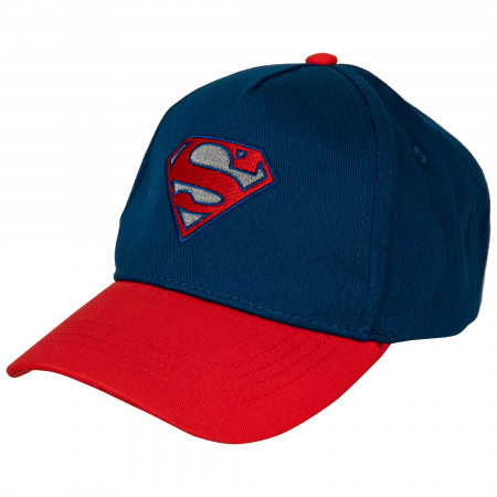 Superman Reflective Curved Brim Adjustable Hat