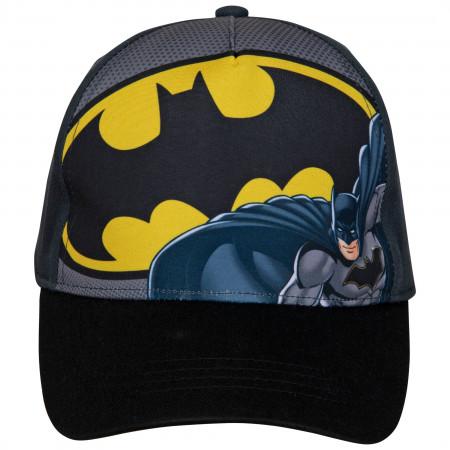 Batman Classic Symbol Curved Brim Hat
