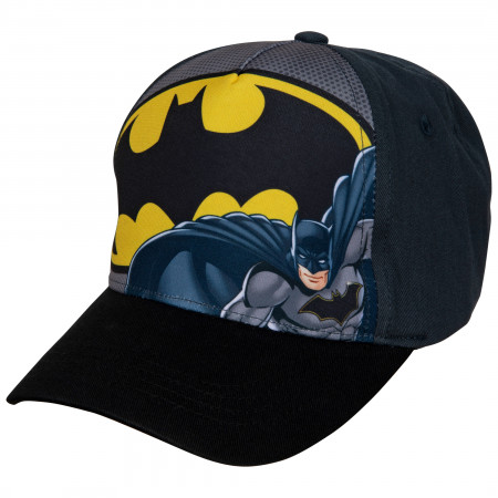 Batman Classic Symbol Curved Brim Hat
