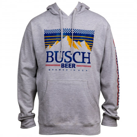Busch Racing Sleeve Print Hoodie