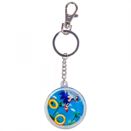 Sonic The Hedgehog Ring Chase Keychain