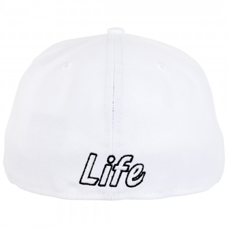 White Lantern Color Block New Era 59Fifty Fitted Hat